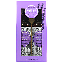 Buy Tisserand Lavendar Walk Hand Wash and Lotion Duo Gift Set Online at johnlewis.com
