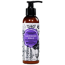 Buy Tisserand Lavender Walk Hand And Body Lotion, 195ml Online at johnlewis.com
