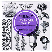 Buy Tisserand Lavender Walk Scented Sachets, x 3 Online at johnlewis.com