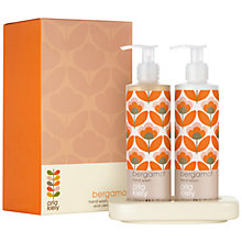 Buy Orla Kiely Bergamot Hand Wash and Lotion Set Online at johnlewis.com