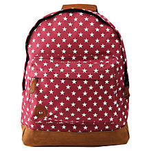 Buy Mi-Pac All Stars Backpack, Burgundy Online at johnlewis.com