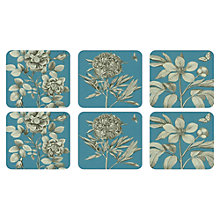 Buy Pimpernel Etching and Rose Coasters, Set of 6 Online at johnlewis.com