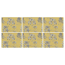 Buy Sanderson for Pimpernel Etchings and Roses Placemats, Set of 6 Online at johnlewis.com