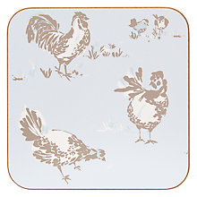 Buy John Lewis Chickens Coasters, Set of 6 Online at johnlewis.com