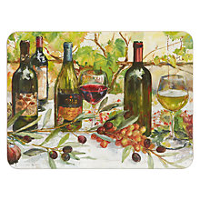 Buy Jason Products Wine Club Placemats, Set of 6 Online at johnlewis.com
