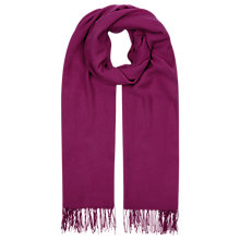 Buy Planet Fuschia Scarf, Pink Online at johnlewis.com