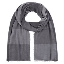 Buy Hobbs Soft Check Scarf Online at johnlewis.com