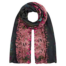 Buy Hobbs Painterly Floral Scarf, Multi Online at johnlewis.com