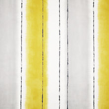Buy John Lewis Lakar Stripe Fabric, Sulphur Online at johnlewis.com
