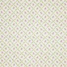Buy John Lewis Trellis Floral PVC Tablecloth Fabric, Pink Online at johnlewis.com