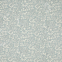 Buy John Lewis Avebury Floral PVC Tablecloth Fabric, Blue Online at johnlewis.com
