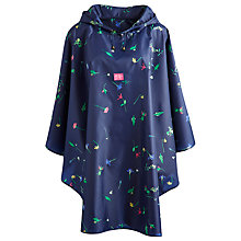 Buy Joules Garden Showerproof Poncho, Navy Online at johnlewis.com