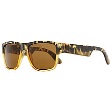 Buy John Lewis Rectangular Frame Sunglasses, Graduated Tortoiseshell Online at johnlewis.com