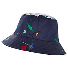 Buy Joules Rainyday Waterproof Hat, Navy Garden Online at johnlewis.com