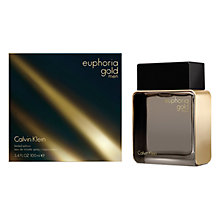 Buy Calvin Klein Euphoria Gold Men Eau de Toilette Online at johnlewis.com