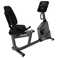 Buy Life Fitness RS1 Lifecycle Recumbent Exercise Bike, Track Console Online at johnlewis.com