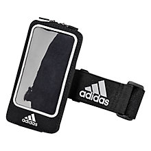 Buy Adidas Media Arm Pocket, Black Online at johnlewis.com