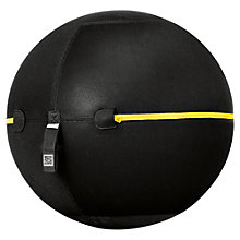 Buy Technogym 65cm Wellness Ball, Black Online at johnlewis.com