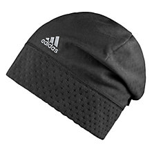Buy Adidas Climaheat Fleece Beanie, One, Size, Black Online at johnlewis.com