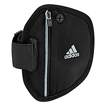 Buy Adidas Run Arm Pocket, Black Online at johnlewis.com