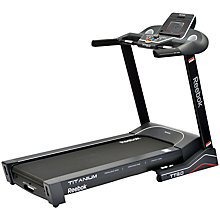 Buy Reebok Titanium TT3.0 Treadmill Online at johnlewis.com