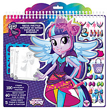 Buy My Little Pony Equestria Girls Sketch Portfolio Online at johnlewis.com