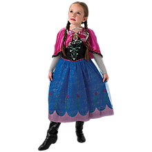 Buy Disney Frozen Anna Music & Lights Dressing-Up Costume Online at johnlewis.com