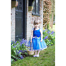 Buy John Lewis Flower Fairy Dressing-Up Costume, Dark Blue Online at johnlewis.com