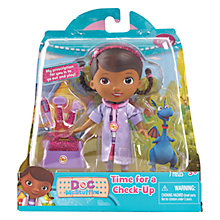 Buy Doc McStuffins Time For A Check-Up Doll & Accessories Online at johnlewis.com