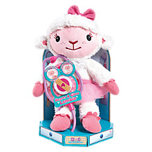 Buy Doc McStuffins Hearts A Glow Lambie Online at johnlewis.com