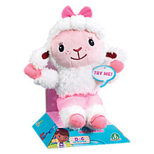 Buy Disney Doc McStuffins Talking Lambie Online at johnlewis.com