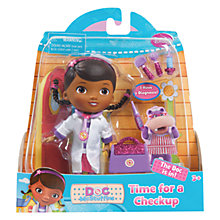 Buy Doc McStuffins Time For A Check-Up Doll Online at johnlewis.com