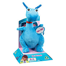 Buy Doc McStuffins Stuffy Dragon Talking Cuddly Toy Online at johnlewis.com