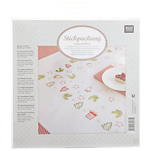 Buy Rico Christmas Tablecloth Embroidery Kit Online at johnlewis.com