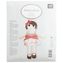 Buy Rico Dolly Embroidery Kit Online at johnlewis.com