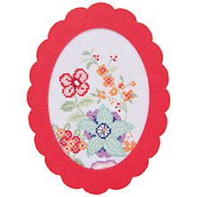 Buy Rico Flower Tendril Embroidery Kit Online at johnlewis.com