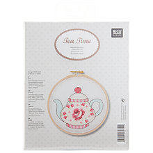 Buy Rico Design Teapot Embroidery Kit Online at johnlewis.com