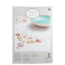 Buy Rico Pigeon Tablecloth Embroidery Kit Online at johnlewis.com