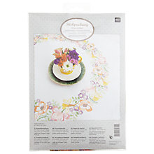 Buy Rico Spring Wreath Tablecloth Embroidery Kit Online at johnlewis.com