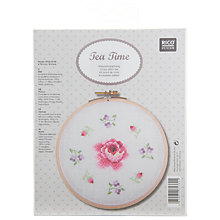 Buy Rico Design Rose & Flowers Embroidery Kit Online at johnlewis.com