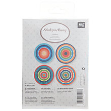 Buy Rico Saucer Design Embroidery Kit Online at johnlewis.com
