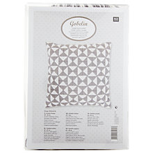 Buy Rico Triangle Gobel Cushion Embroidery Kit Online at johnlewis.com