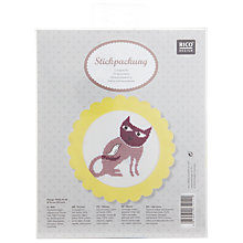 Buy Rico Cat & Bird Embroidery Kit Online at johnlewis.com