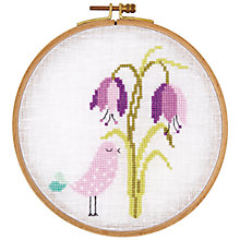 Buy Rico Bird With a Flower Embroidery Kit Online at johnlewis.com