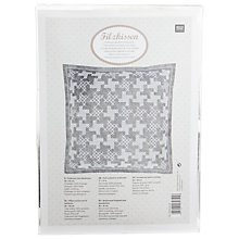 Buy Rico Houndstooth Cushion Embroidery Kit Online at johnlewis.com
