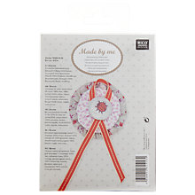 Buy Rico Ladybird Brooch Embroidery Kit Online at johnlewis.com
