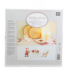 Buy Rico Sleigh Bells Tablecloth Embroidery Kit Online at johnlewis.com