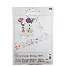 Buy Rico Spring Meadow Tablecloth Embroidery Kit Online at johnlewis.com
