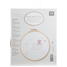 Buy Rico Poodlle Picture Embroidery Kit Online at johnlewis.com