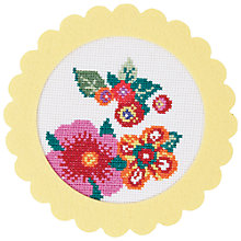Buy Rico Strawberry Flower Embroidery Kit Online at johnlewis.com